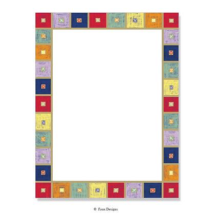 Blocks 8.5 x 11 Sheet