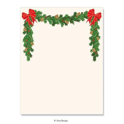 Holiday Garland 8.5 x 11 Sheet