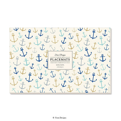Whimsical Anchors Placemat