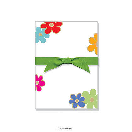 Celebration Flowers Gift Pad