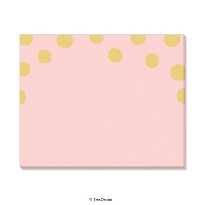 Felicity Blush Desk Pad