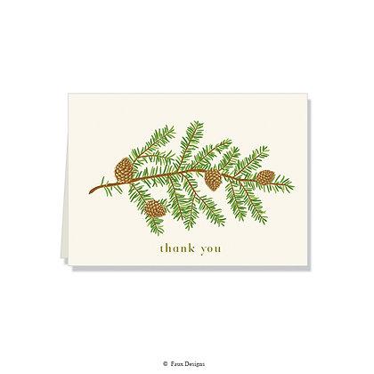 Thank You - Pine Bough