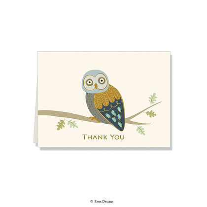 Thank You - Owl