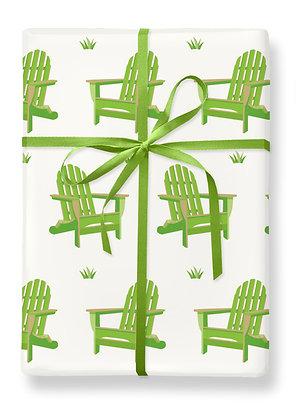 Adirondack Chair Gift Wrap