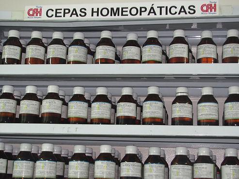 Cepas homeopáticas