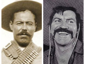 YES, ROBERT PRESTON ONCE PLAYED PANCHO VILLA