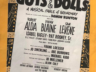"""GIVING THANKS TO BROADWAY: HAPPY 70th TO """"GUYS AND DOLLS"""""""