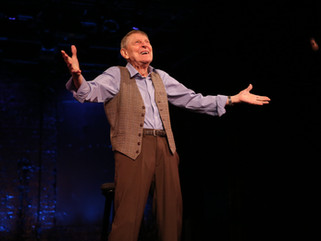 JOHN CULLUM BACK ON STAGE AT NINETY-ONE