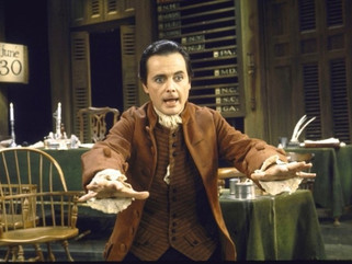 Q & A WITH JOHN ADAMS ON THE FOURTH (the one and only William Daniels)