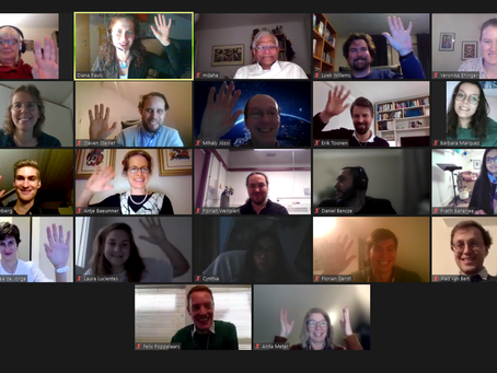 """""""Definitely the closest online meeting ever"""""""