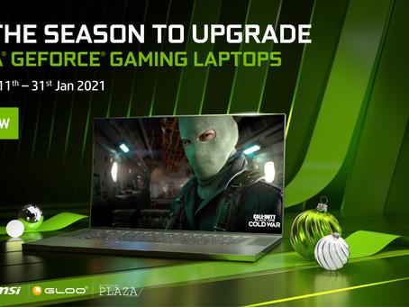 升级电脑的大好机会来啦!NVIDIA® GeForce RTX™ & GTX系列产品促销开催中!