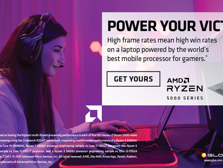 新品高能處理器筆電入手良機!AMD Ryzen™ 5000 系列行動處理器用於超薄筆記型電腦,隨時隨地提供究極使用體驗。