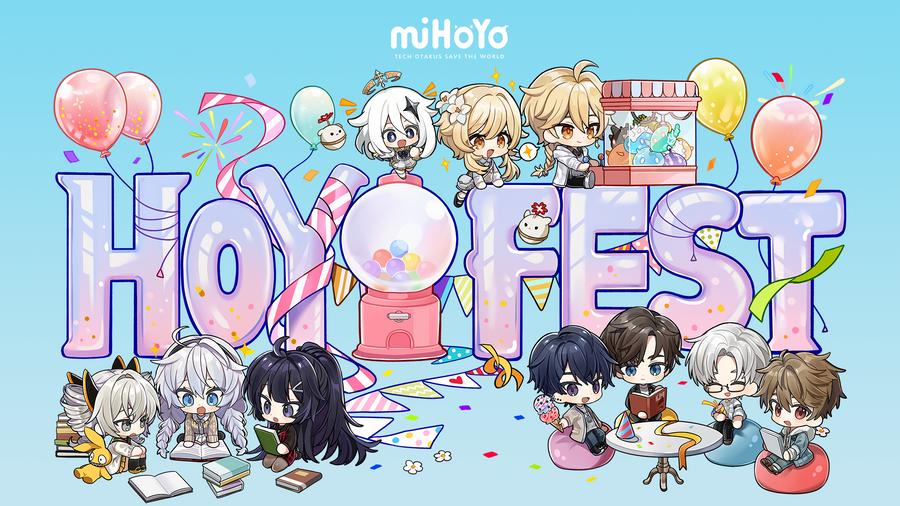 HoYo FEST 東南亞場次11月正式展開!