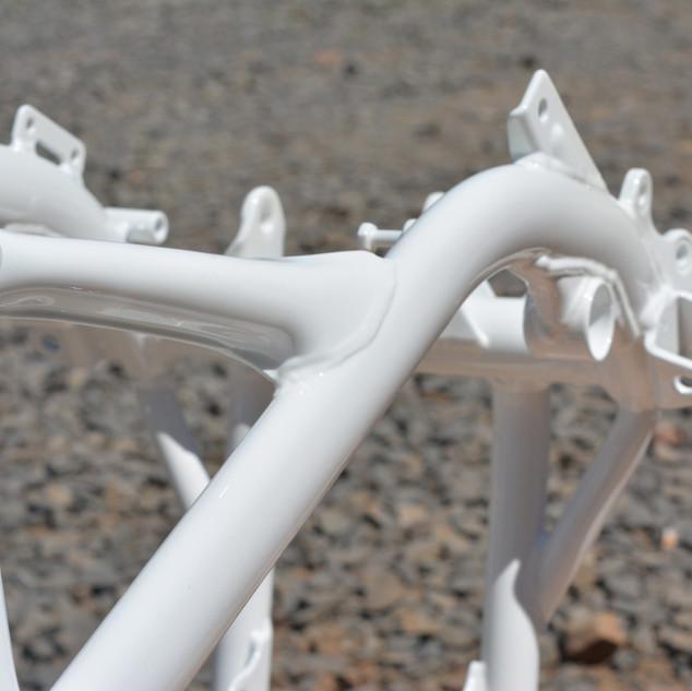 15 - rama motorowa lakiernia proszkowa lak system