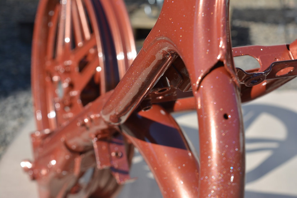06 - rama motorowa lakiernia proszkowa lak system