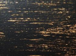 czarny 9005 matowy gładki ze złotą