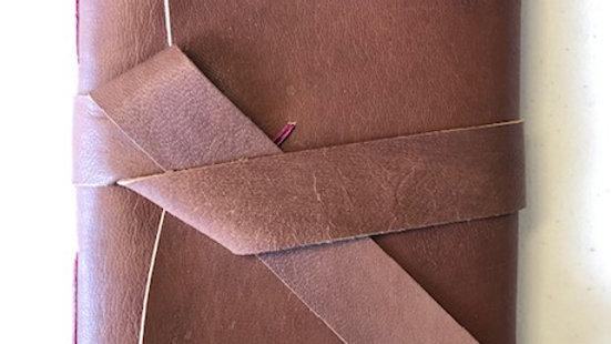 6 x 4 Custom Limp Leather Journal