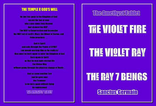 THE VIOLET FLAME & VIOLET FIRE AMETHYST TABLET eBook