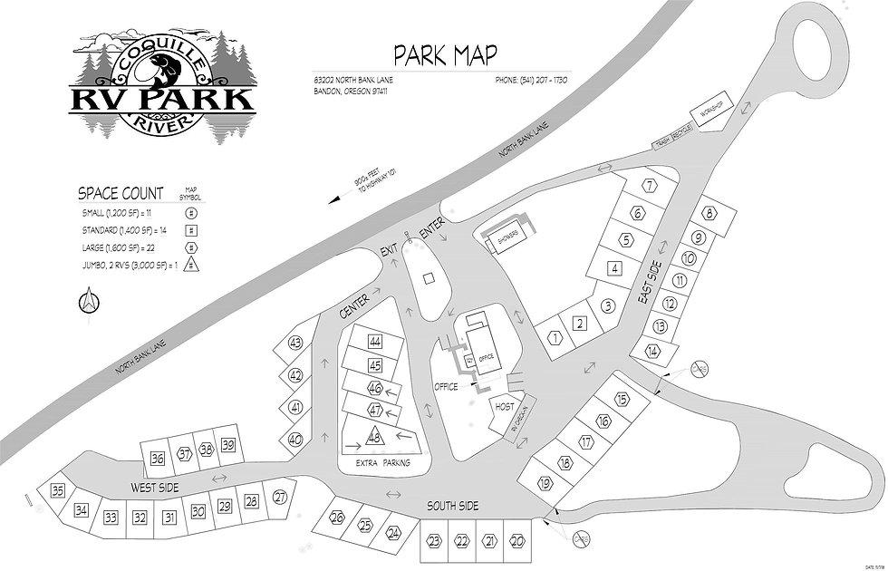 CRRV Park Map 2021