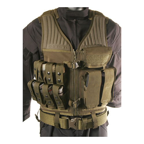 BH OMEGA ELITE 40MM/ RIFLE VEST - OD GREEN