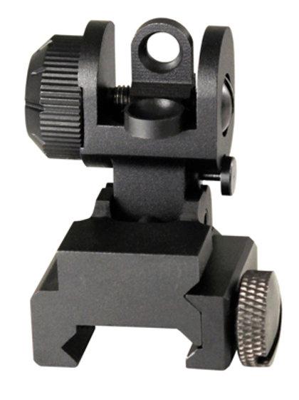 AR-15 / M16 A2 REAR FLIP-UP SIGHT w/ SINGLE PLANE