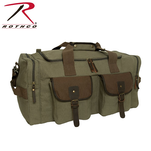 LONG JOURNEY CANVAS TRAVEL BAG