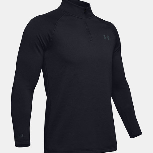 COLDGEAR BASE 4.0 1/4 ZIP - BLACK