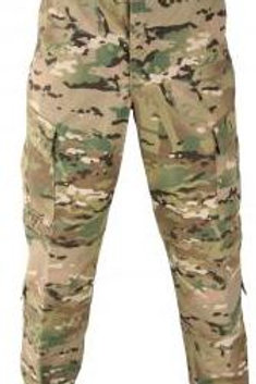 PROPPER ACU PANTS - MULTICAM 50/50 NYCO RIPSTOP