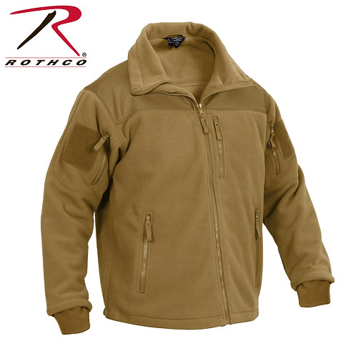 SPEC OPS FLEECE JACKET - COYOTE