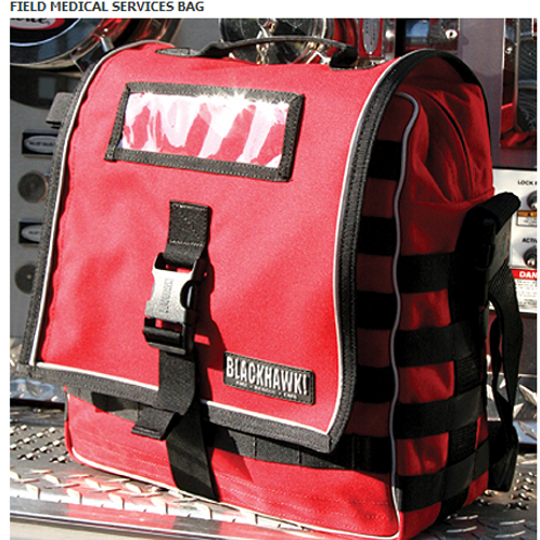 FIELD MEDICAL SERVICES BAG - RED