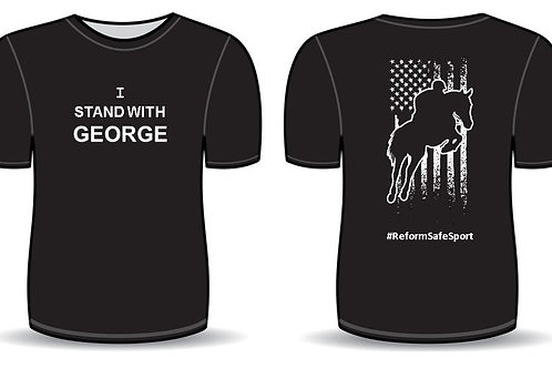 RSS Stand w/ George Men's T-shirt