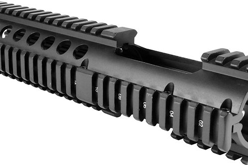 "AR CARBINE LENGTH QUAD RAIL 10.25"" EXTENDED"