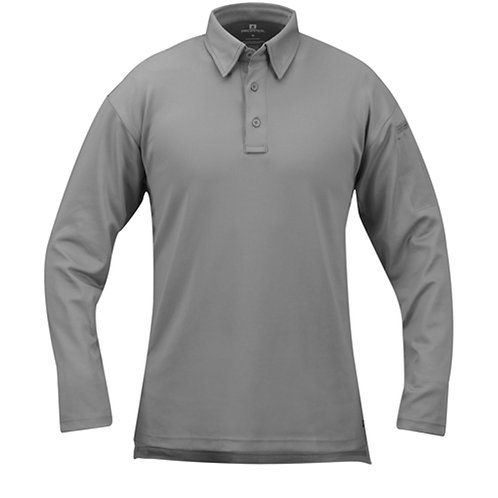 ICE MEN'S PERFORMANCE POLO LONG SLEEVE - ALL COLOR