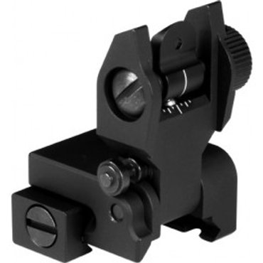 AR LOW PROFILE REAR FLIP-UP SIGHT / V2