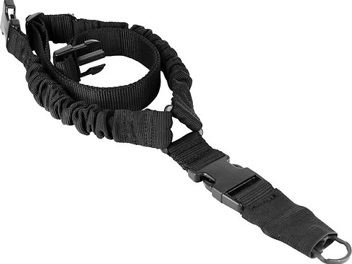 ONE POINT BUNGEE RIFLE SLING / BLACK