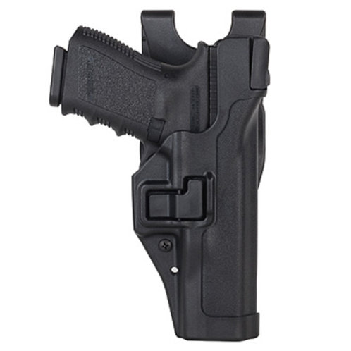 LEVEL 3 SERPA HOLSTER GLOCK 19 PLAIN BLACK