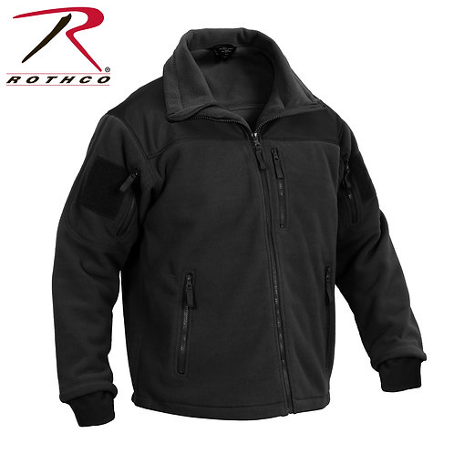 SPEC OPS FLEECE JACKET - BLACK