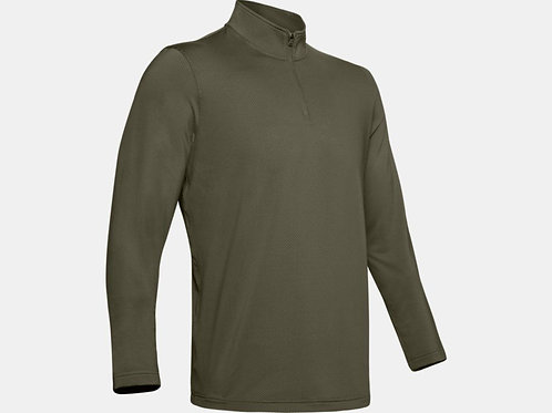 COLDGEAR BASE 4.0 1/4 ZIP MOD GREEN