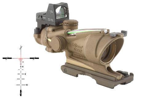 ACOG 4X32 W/RMR SIGHT & BAC - GREEN