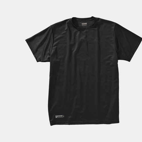 HEATGEAR TACTICAL SHORT SLEEVE (LOOSE) - BLACK
