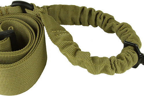 ONE POINT BUNGEE RIFLE SLING / TAN