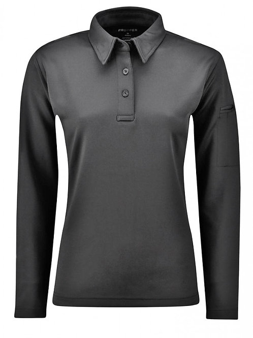 ICE WOMEN'S PERFORMANCE POLO L/S - ALL COLOR