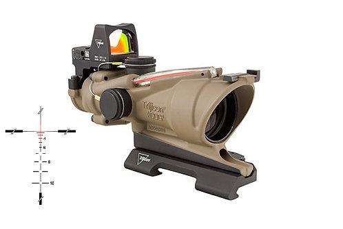 ACOG 4X32 W/RMR SIGHT & BAC - RED