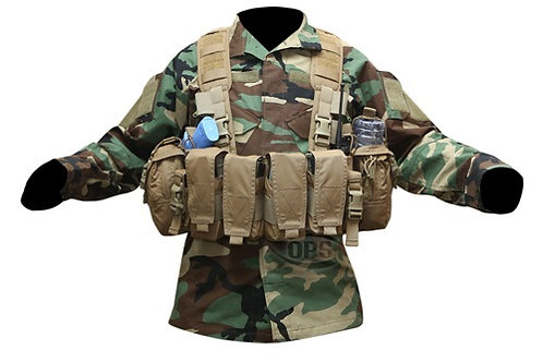 OPS Enhanced Combat Chest Rig - ALL COLORS