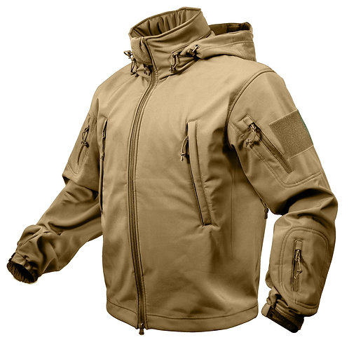 Special Ops Tactical Soft Shell Jacket S-XL