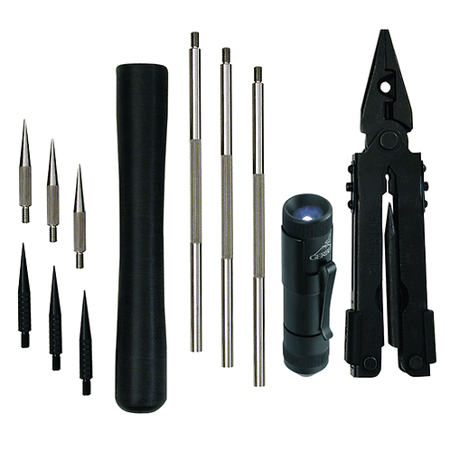 DELUXE MINE PROBE KIT WITH SHEATH