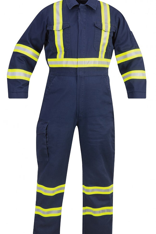 Propper® FR Coverall - Reflective Trim - NAVY