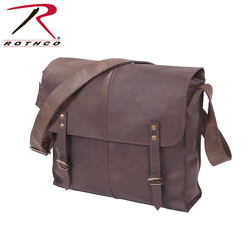 BROWN LEATHER MEDIC BAG