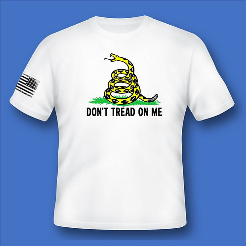 Dont Tread On Me - White