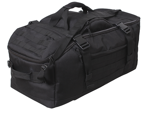 3 IN 1 CONVERTIBLE MISSION BAG - Black